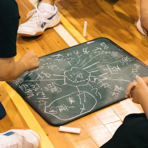 日置中学校でのワーク